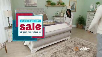 Ashley HomeStore Presidents Day Sale TV Spot, 'Starmore, Ryler and Zardoni' Song by Midnight Riot - Thumbnail 2