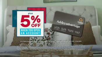 Ashley HomeStore Presidents Day Sale TV Spot, 'Starmore, Ryler and Zardoni' Song by Midnight Riot - Thumbnail 8