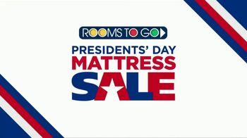 Rooms to Go Presidents' Day Mattress Sale TV Spot, 'Very Special Purchase' - Thumbnail 2
