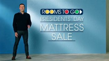 Rooms to Go Presidents' Day Mattress Sale TV Spot, 'Choose Your Perfect Set' - Thumbnail 1