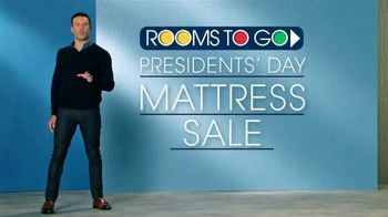 Rooms to Go Presidents' Day Mattress Sale TV Spot, 'Choose Your Perfect Set' - Thumbnail 2