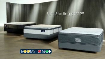 Rooms to Go Presidents' Day Mattress Sale TV Spot, 'Choose Your Perfect Set' - Thumbnail 3