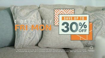 Ashley HomeStore Anniversary Sale TV Spot, 'Final Weekend: Four Days Only' Song by Midnight Riot - Thumbnail 4