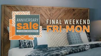 Ashley HomeStore Anniversary Sale TV Spot, 'Final Weekend: Four Days Only' Song by Midnight Riot - Thumbnail 8