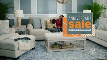 Ashley HomeStore Anniversary Sale TV Spot, 'Final Weekend' Song by Midnight Riot - Thumbnail 2