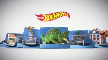 Hot Wheels City Smashin' Triceratops TV Spot, 'Give It all You Got' - Thumbnail 1