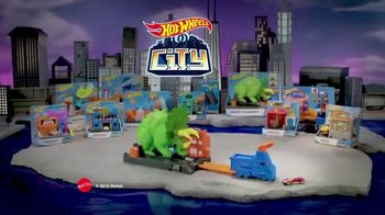 Hot Wheels City Smashin' Triceratops TV Spot, 'Give It all You Got' - Thumbnail 10