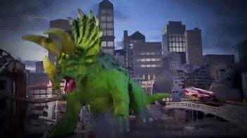 Hot Wheels City Smashin' Triceratops TV Spot, 'Give It all You Got' - Thumbnail 2