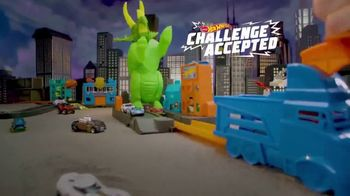 Hot Wheels City Smashin' Triceratops TV Spot, 'Give It all You Got'