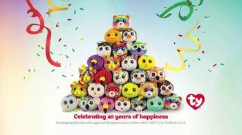 McDonald's Happy Meal TV Spot, 'Teeny Teeny TY: Birthday' - 1512 commercial airings