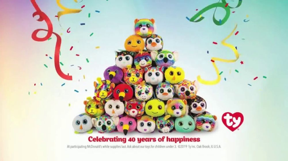McDonald's Happy Meal TV Commercial, 'Teeny Teeny TY: Birthday'