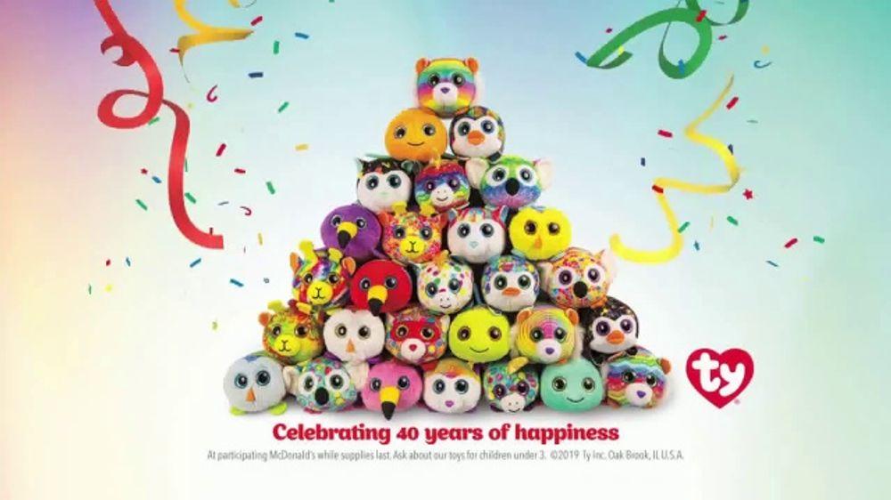 McDonald's Happy Meal TV Commercial, 'Teeny Teeny TY: Birthday