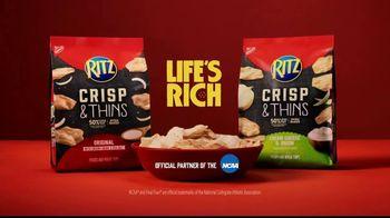 Ritz Crackers Crisp & Thins TV Spot, 'Final Four' - Thumbnail 10