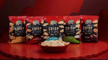 Ritz Crackers Crisp & Thins TV Spot, 'Final Four' - Thumbnail 7