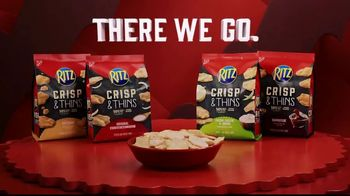 Ritz Crackers Crisp & Thins TV Spot, 'Final Four' - Thumbnail 9