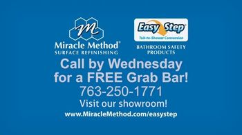 Miracle Method Easy Step TV Spot, 'Help Prevent Bathtub Slip and Fall Accidents' - Thumbnail 9