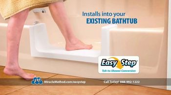 Miracle Method Easy Step TV Spot, 'Help Prevent Bathtub Slip and Fall Accidents' - Thumbnail 2