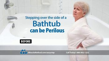 Miracle Method Easy Step TV Spot, 'Help Prevent Bathtub Slip and Fall Accidents' - Thumbnail 3