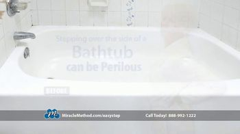 Miracle Method Easy Step TV Spot, 'Help Prevent Bathtub Slip and Fall Accidents' - Thumbnail 4