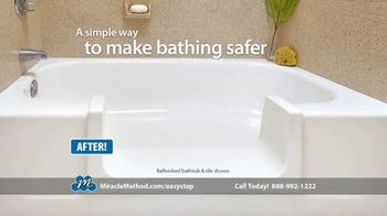 Miracle Method Easy Step TV Spot, 'Help Prevent Bathtub Slip and Fall Accidents' - Thumbnail 5