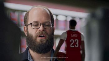 Mobil 1 TV Spot, 'Taller on TV: Get 250K Miles of Protection' Featuring Anthony Davis - Thumbnail 6