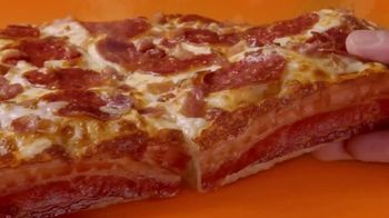 Little Caesars Pizza Bacon Wrapped DEEP!DEEP! Dish Pizza TV Spot, 'Daym Drops: Yes! - Thumbnail 8