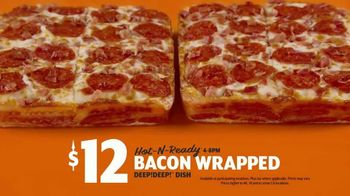 Little Caesars Pizza Bacon Wrapped DEEP!DEEP! Dish Pizza TV Spot, 'Daym Drops: Yes! - Thumbnail 9