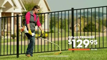 STIHL TV Spot, 'Legendary Power: Grass Trimmer and Blower' - Thumbnail 7