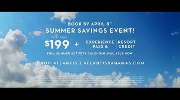 Atlantis Summer Savings Event TV Spot, 'Save the Ocean' - Thumbnail 10