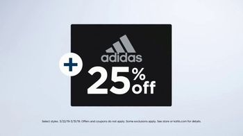 Kohl's TV Spot, 'Sticking to It: adidas' Song by Rayelle - Thumbnail 9