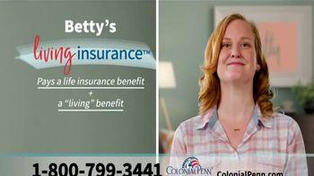 Colonial Penn Living Insurance TV Spot, 'Barbara and Betty' - Thumbnail 3