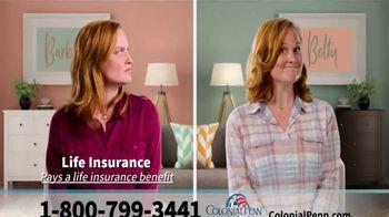 Colonial Penn Living Insurance TV Spot, 'Barbara and Betty' - Thumbnail 8