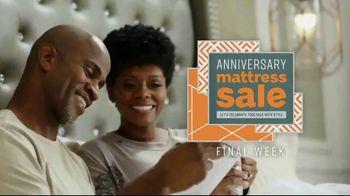 Ashley HomeStore Anniversary Mattress Sale TV Spot, 'Final Week: Ashley Sleep and Sealy' Song by Midnight Riot - Thumbnail 2