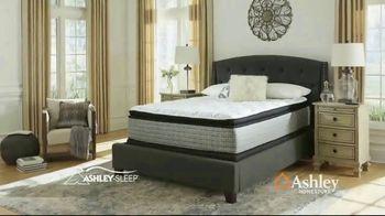 Ashley HomeStore Anniversary Mattress Sale TV Spot, 'Final Week: Ashley Sleep and Sealy' Song by Midnight Riot - Thumbnail 4