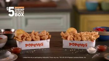 Popeyes $5 Butterfly Shrimp Tackle Box TV Spot, 'The Price You Pay for Greatness' - Thumbnail 10
