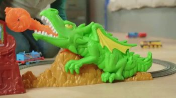 Thomas & Friends TrackMaster Dragon Escape Set TV Spot, 'Zoom Past the Dragon' - Thumbnail 2