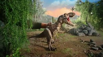 Jurassic World Bite 'n Fight T-Rex TV Spot, 'Fight, Bite and Smash'