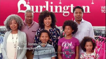 Burlington TV Spot, \': The James Family\'
