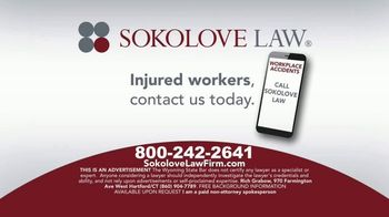 Sokolove Law TV Spot, 'Injured Workers' - Thumbnail 10