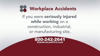 Sokolove Law TV Spot, 'Injured Workers' - Thumbnail 3