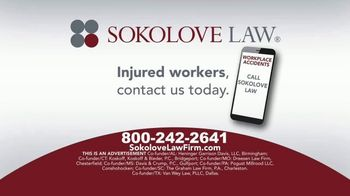 Sokolove Law TV Spot, 'Injured Workers' - Thumbnail 8