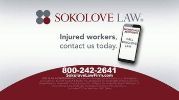 Sokolove Law TV Spot, 'Injured Workers' - Thumbnail 9