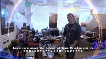 Academy of Art University TV Spot, 'Tour One of the Top Game Development Schools in San Francisco' - Thumbnail 6