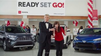 Toyota Ready Set Go! TV Spot, 'Spring Match' Featuring Michael Buffer [T2] - 4 commercial airings