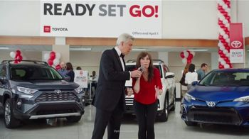 Toyota Ready Set Go! TV Spot, 'Spring Match' Featuring Michael Buffer [T2] - Thumbnail 4