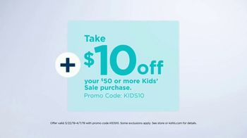 Kohl's TV Spot, 'Savings Add Up: Evri, Towels and Kids' - Thumbnail 8