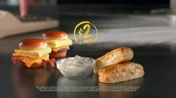 Hardee's 2 3 More Menu TV Spot, 'Crunching the Numbers' - Thumbnail 3