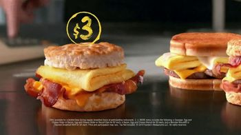 Hardee's 2 3 More Menu TV Spot, 'Crunching the Numbers' - Thumbnail 5