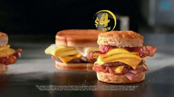 Hardee's 2 3 More Menu TV Spot, 'Crunching the Numbers' - Thumbnail 6