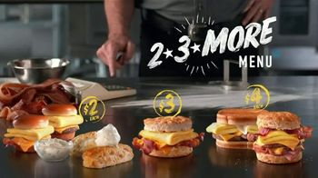 Hardee's 2 3 More Menu TV Spot, 'Crunching the Numbers' - Thumbnail 8